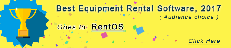 Online Equipment Rental Software