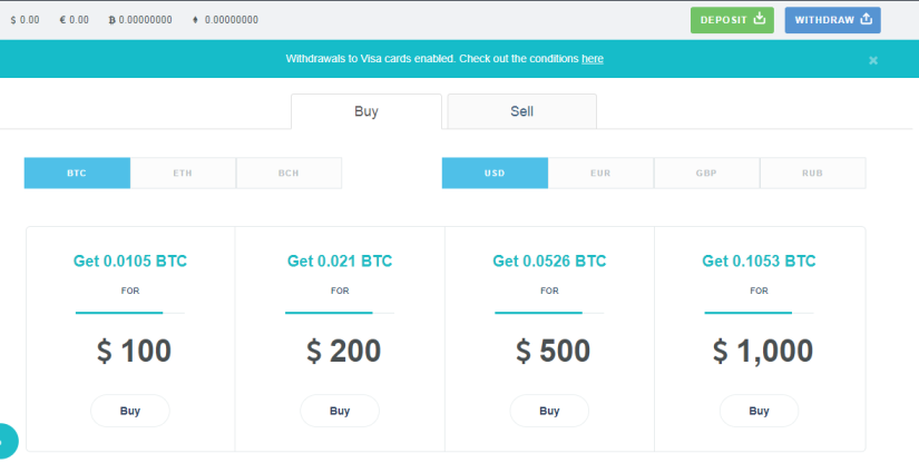 Premium Bitcoin Exchange Website Template