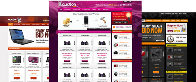 Penny auction script for quibids clone